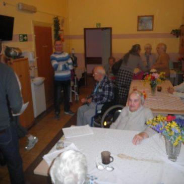 Spotkanie w Domu Opieki dla Osób Starszych i Niepełnosprawnych w Chorzowie